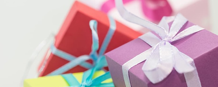 Birthday christmas gifts packages